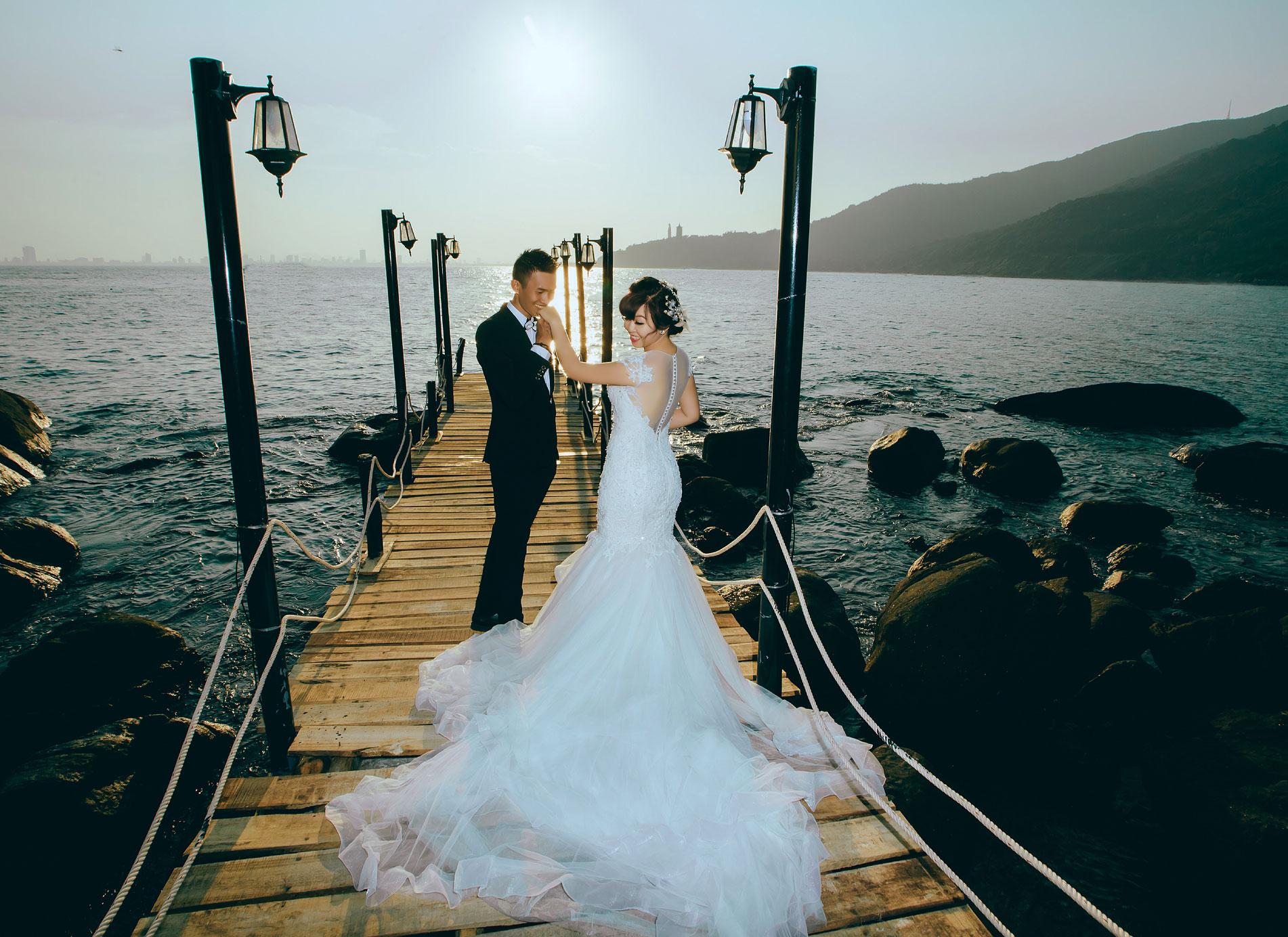 Chụp ảnh cưới Hải Vân – Đồi chè – Đà Nẵng – Hội An| Thanh – Trang