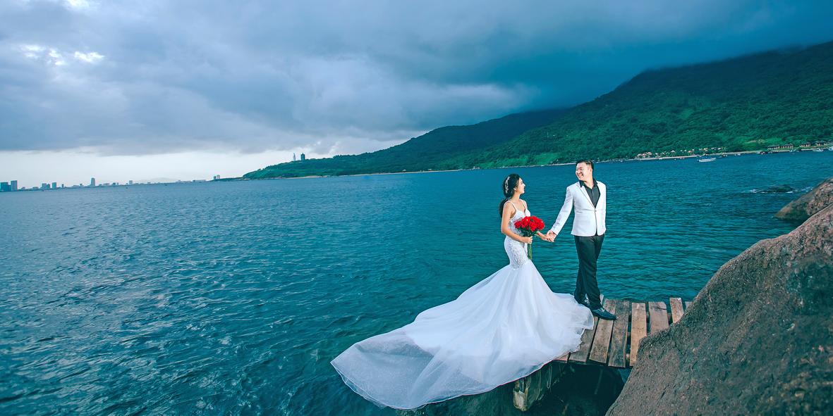 Chụp ảnh cưới Đồi Chè – Đà Nẵng – Hội An | Tài – Điệp