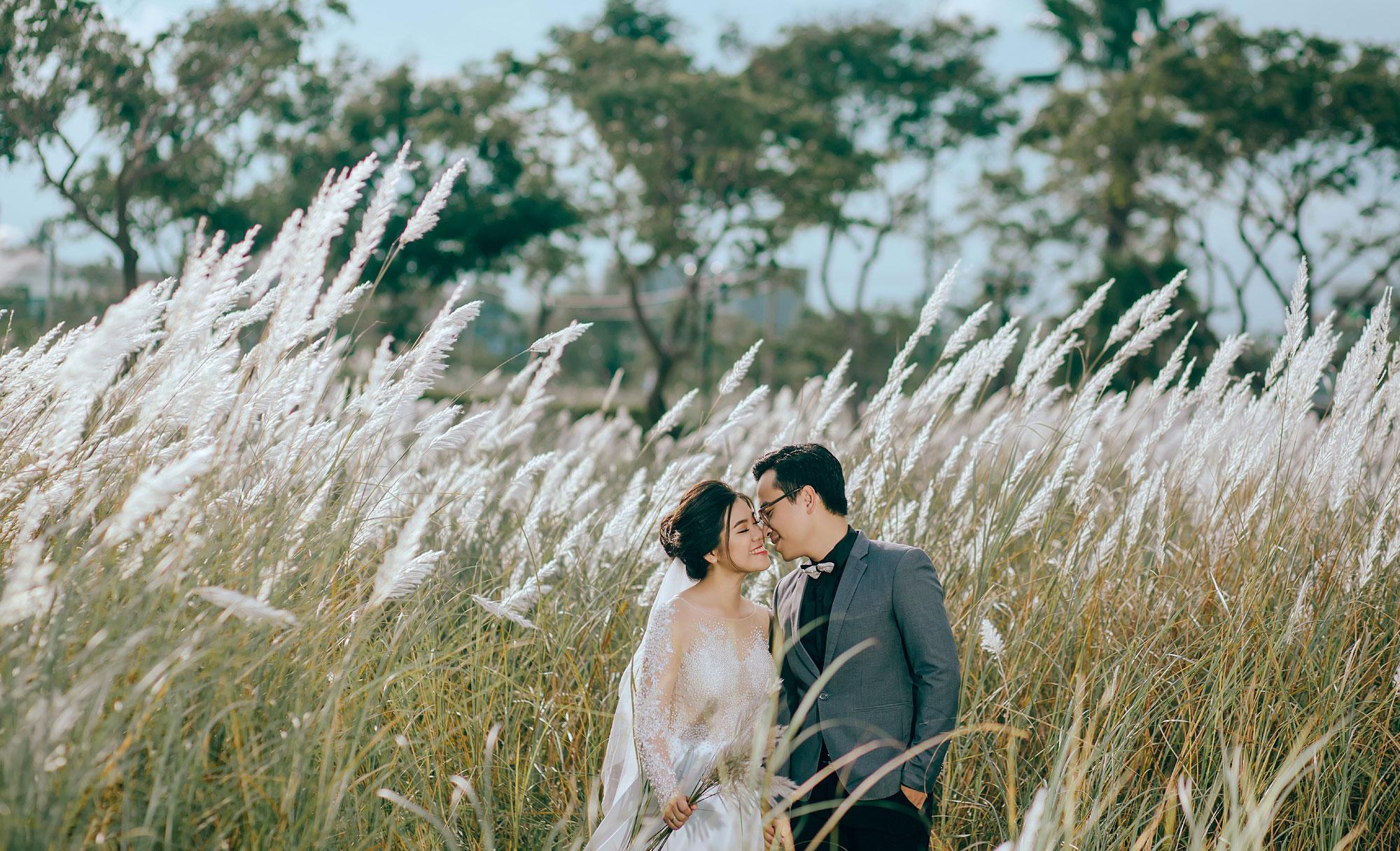 Chụp ảnh cưới Đà Nẵng – Đồi chè| Toàn – Anh