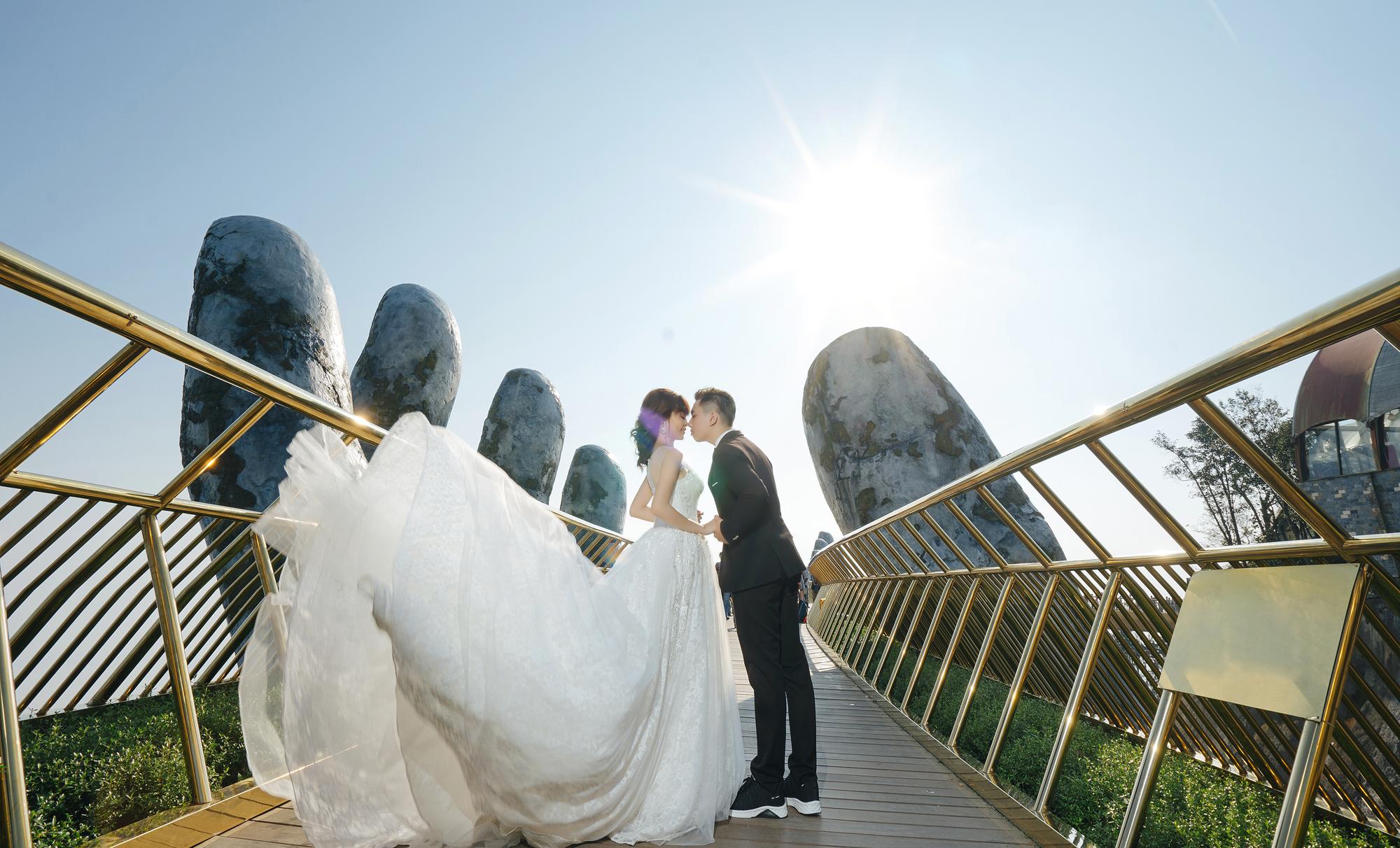 Chụp ảnh cưới Bà Nà – Hội An | Tuấn & Lan