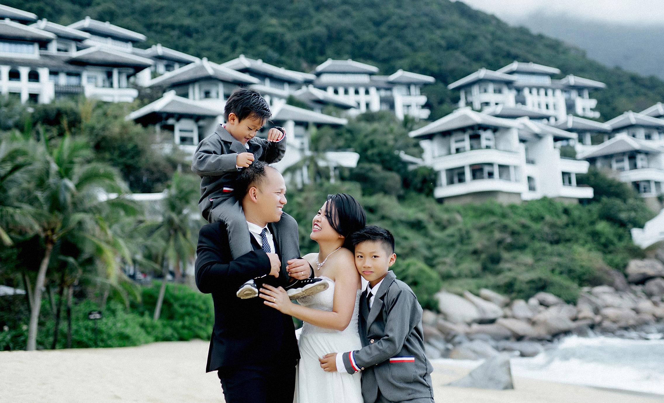Ảnh gia đình [Resort Intercontinental]