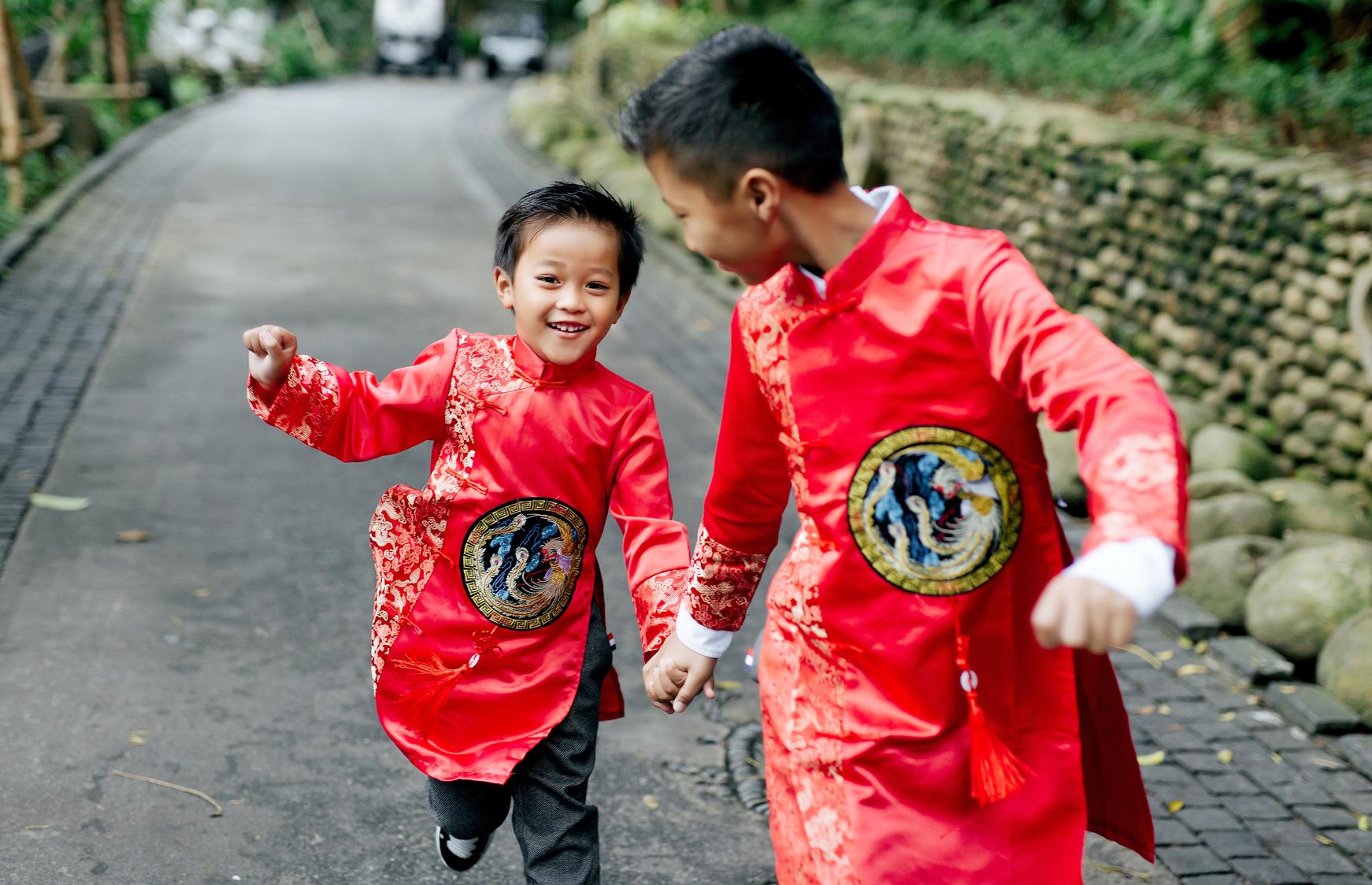 Ảnh gia đình Phong & Nam
